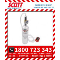 Scott Safety 077-0272 34L 25ppm H2S Calibration Gas