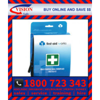 Small Portable Multi Purpose Workplace First Aid Kit (FAWMP)