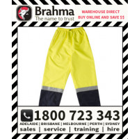 Storm Waterproof Trousers HiVis with Reflective Tape