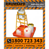 WS25 25Lt WORSTATION Drumsafe Spill Prevention Secondary Containment