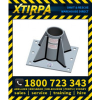 XTIRPA Center Mounted Floor Adapter for 140mm (5.5) Mast (XTIN2201)
