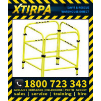 XTIRPA Portable Manhole Guard Barricade Safety System Fall Protection Rescue Retrieval (XTIN2108)