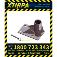 XTIRPA Stainless Steel 600mm Floor Mount Adapter (XTIN2005)