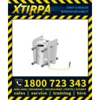 XTIRPA Stainless Steel Zinc Plated Barrel Adapter (XTIN2129)