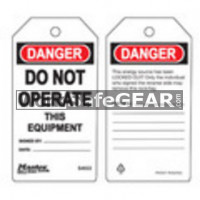 X_Tags Do Not Operate This Equipment (LO M S4022 WSG