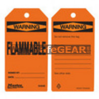 X_Tags Flammable Orange (LO M S4048 WSG)
