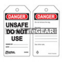X_Tags Unsafe Do Not Use (LO M S4006 WSG)