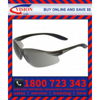 Harpoon 261 Safety Glasses Smoke Hard Coated Lens (261BKSD)
