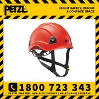 RED Petzl Vertex Best Helmet (A10BRA)