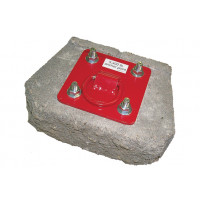3M PROTECTA PRO Concrete D-ring Anchorage Plate (AJ720A)