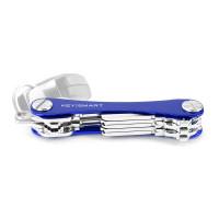 KeySmart Key Holder Alum (Up to 8 Keys) Blue