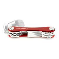 KeySmart Key Holder Alum (Up to 8 Keys) Red