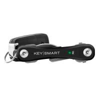 KeySmart Pro with Tile Smart Location fit 10 Keys BLK