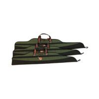 "AOS Canvas Scoped Rifle Bag 40"" - Green Extra Heavy Duty"