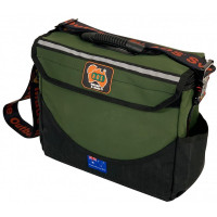 AOS Deluxe Series Tool Bag Small Canvas Grn/Blk