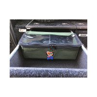 AOS Cargo Drawer Bag - Small with Clear Top - Grey Canvas