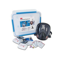 3M Medical & Industry Medium Full Face Respirator Kits Asbestos/Dust/ Medical - P3 (6835M)