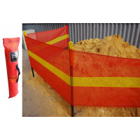Barrier Roll Zone Demarcation Barrier Mesh