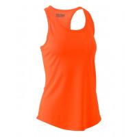 Bisley Womens Racer Back Singlet Orange