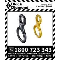 Black Diamond Super 8 Belay / Rappel Device Figure 8 (BD620072)