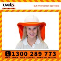 Uveto ORANGE Fire Retardant Brim 'N Shade Sun Protection Attachment