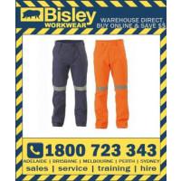 Bisley Mens 3M Taped Original Cotton Drill Work Pant