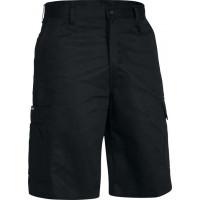 Bisley Cool Lightweight Mens Utility Short Black