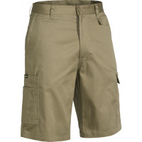 Bisley Cool Lightweight Mens Utility Short Khaki