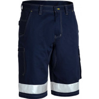 Bisley 3M Taped Cool Vented Lightweight Cargo Short Navy