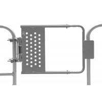 "16""-26"" GREY POWDER COAT Adjustable Self Closing Safety Gate (SG1626ZC1P1S)"