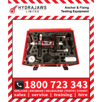 Hydrajaws Model 2000 DELUXE Tester Kit with Analogue Gauge (CS2000DLXEXP) Anchor Fastener Pull Tester