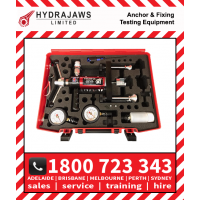 Hydrajaws Model 2000 DELUXE MASTER Export Tester Kit with Analogue Gauges (CS2000DLMA) Anchor Fastener Pull Tester