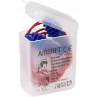 AirSoft Multiple-Use Earplug SNR 30db Reusable -single