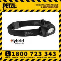 Petzl Tactikka+ Black Compact Headlamp 350 lumens