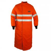 Elliotts ArcSafe T9 Arc Flash Switching Coat with Reflective Trim - Orange (EASCCT9T1)
