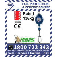 IKAR 3m SRL fall arrestor with Double Action Karabiner