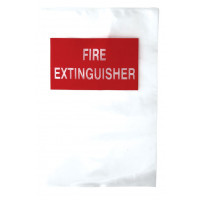 Plastic Cover Bags - Suit 4.5kg Extinguisher (FD01)