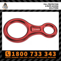 Camp Safety Figure 8 abseiling rope descender rated 30kN (548.01)