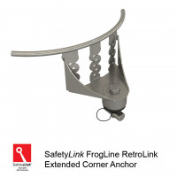 FrogLine RetroLink Corner Anchor (with Extension for high profile & corners) (STAT.FROGRET003_EXT)