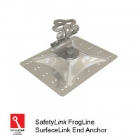 FrogLine SurfaceLink End Anchor - Stainless Steel Plate (STAT.FROGSUR002)