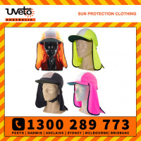 Uveto Micro Mesh Gobi Over Hat Helmet Add-on Sun Protection