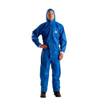 M Protective Coverall Blue + White 3M (4532+)