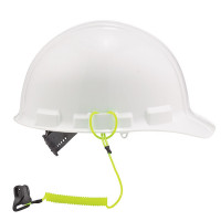 Ergodyne Squids 3158 hard hat lanyard lime