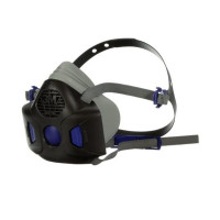 LARGE 3M Secure Click Half face Reusable Respirator (HF-803SD)