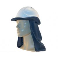 Uveto NAVY 100% Cotton Hard Hat Flap Safety Helmet Attachment