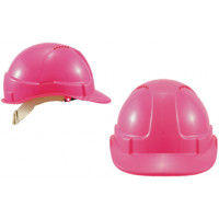 Construction Hammer Head Hard Hat - Pink (Vented)