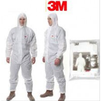 XL 3M Disposable Protective Coverall White Type 5/6 (4515)