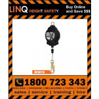 LINQ 15m Self Retractable Wire Rope Loq Bloq (IRSR15)