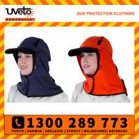 Uveto Kalahari Hat 100% Cotton Sun Protection Headwear (KHC)