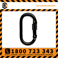 LINQ 25kN Screw Gate Karabiner Steel Alloy 18mm (KSGA)